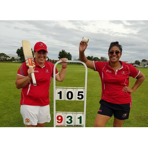Hickson & Vaelua star for Premier Women & patient Money Half-Century ensures Premier Men secure a draw!