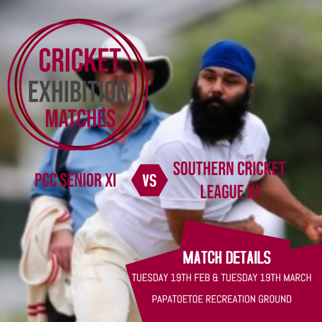 Premier Men and Women have a tough day out, Southern Cricket League plus upcoming exhibition matches!
