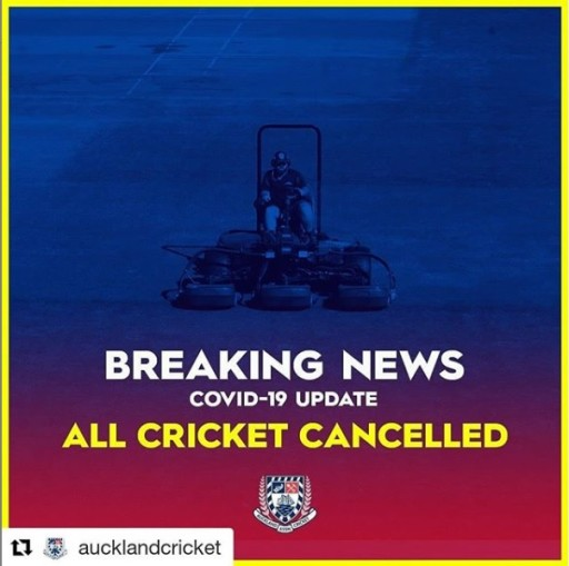 ALL Cricket Canceled due to Covid-19 plus Last Weekend's results!