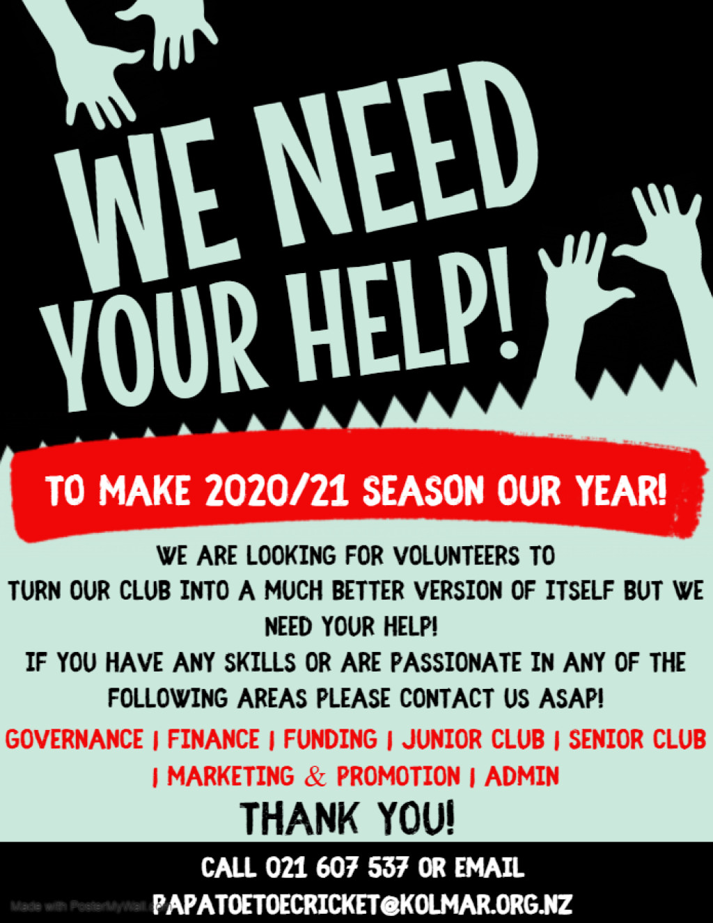 General Manager's Memo to All Members, AGM and Prizegiving Updates plus Volunteers Wanted!